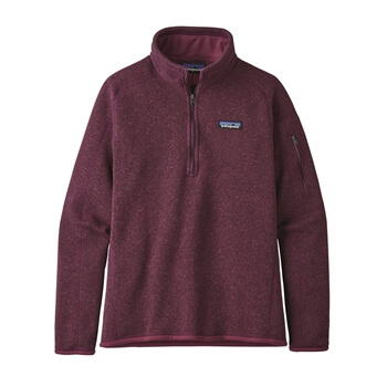 Patagonia Women's Fall Better Sweater 1/4 Zip