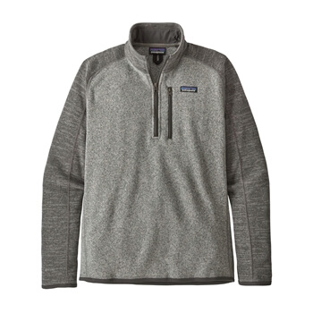 Patagonia Men's Fall Better Sweater 1/4 Zip